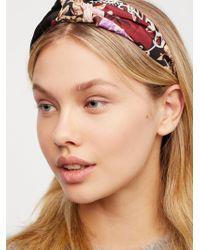 Free People | Scarf Print Headband | Lyst