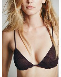 Free People - Essential Triangle Bra - Lyst