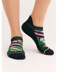 Free People - Varsity Floral Tab Socks By Stance - Lyst