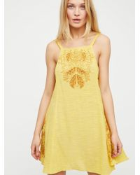 Free People - Tulum Cutwork Slip - Lyst