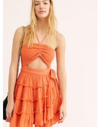 Free People - Hot Dang Mini Dress By Endless Summer - Lyst