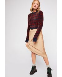 Free People - Fp One Cropped Fairisle Pullover Jumper - Lyst