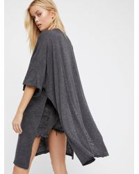 Free People - We The Free Solid City Slicker Tunic - Lyst