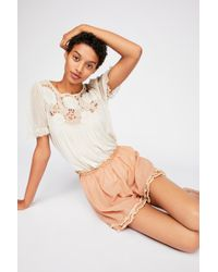 Free People - Khloe Shorts By Magnolia Pearl - Lyst
