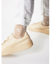 Free People - Count Your Stars Net Anklet By Look From London - Lyst