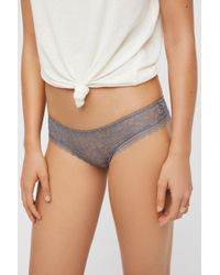 Free People - Lace Hipster Knickers By Intimately - Lyst