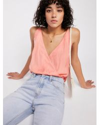 Free People - Night Out Bodysuit - Lyst
