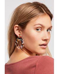 Free People - Lucy Resin Hoop Earrings By Zhuu - Lyst