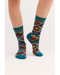 Free People - Scotty Geo Knit Sock By Sock It Up - Lyst