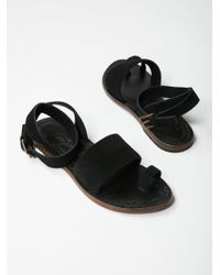 Free People - Torrence Flat Sandal By Fp Collection - Lyst