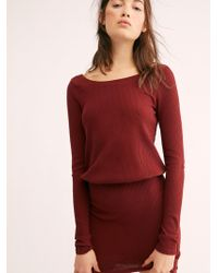 Free People - On The Rooftop Mini Dress - Lyst