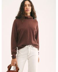 Free People - Cozy Cashmere Turtleneck Sweater - Lyst