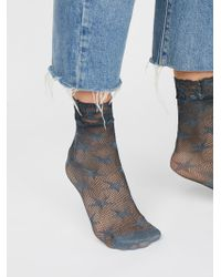 Free People | Count Your Stars Net Anklet | Lyst