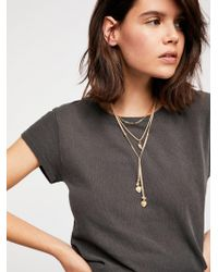 Free People - Outlaw Layered Bolo - Lyst