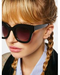Free People - Study Buddy Sunglasses - Lyst