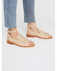 Free People - Leather Catalina Loafer - Lyst