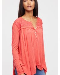 Free People - To The Sea Tee - Lyst