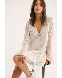 Free People - Falling Flowers Frock - Lyst