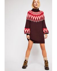 Free People - Scotland Jumper Dress - Lyst