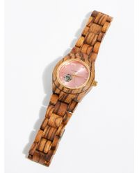 Free People - Cora Zebrawood Watch - Lyst