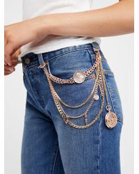 Free People - Gate Keeper Pocket Chain - Lyst