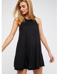 Free People - La Nite Mini Dress - Lyst