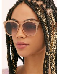 Free People - Sunset In Soho Sunglasses - Lyst