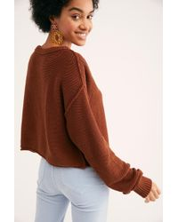 Free People - Inside Out Pullover - Lyst