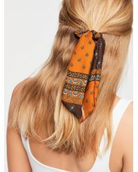 Free People - Made Ya Look Scarf Pony - Lyst