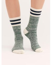 Free People - Haven Cosy Crew Sock - Lyst