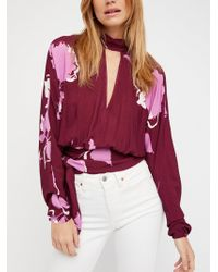 Free People - Say You Love Me Blouse - Lyst