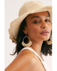 41971abe86b53 Free People Mickey Vegan Bucket Hat in White - Lyst