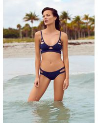 Free People - Chloe Moderate Bikini Bottom - Lyst