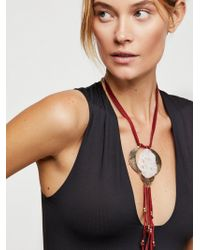 Free People - Sabine Stone Necklace - Lyst