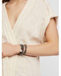 Free People - Shimmer Wrap Bracelet - Lyst