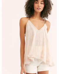 Free People - Finer Things Cami - Lyst