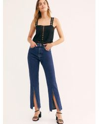 Free People - The Ragged Priest Cougar Jeans - Lyst