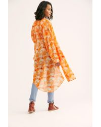 Free People - We The Free Printed Maxi Top - Lyst