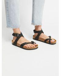 Free People - Yara Leather Sandals - Lyst