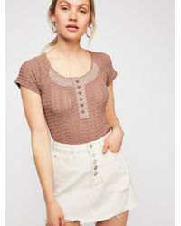 Free People - Can't Stop Top - Lyst