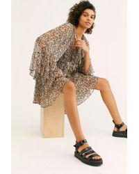 c5e71617db Free People Delirium Strappy Mini Dress - Lyst