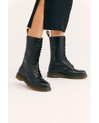 Free People - Dr. Martens 1914 14-eye Boot - Lyst