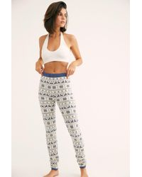 Free People - Printed Jumper Legging By Knitty Kitty - Lyst