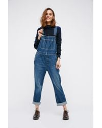 Free People - The Boyfriend Overall By We The Free - Lyst
