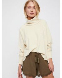 Free People - Mildred Cotton Shortie - Lyst