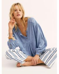 Free People - We The Free Day Dream Henley - Lyst