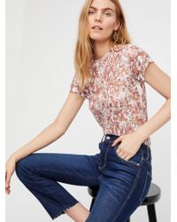 Free People - Lace Layering Cami - Lyst