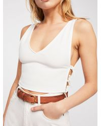 Free People - Lila Western Belt - Lyst