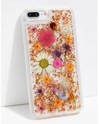 Free People - Luxe Pressed Flower Phone Case - Lyst