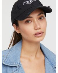 Free People - Start Your Engines Baseball Hat - Lyst